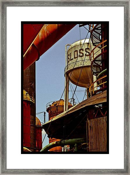 Sloss Poster Framed Print