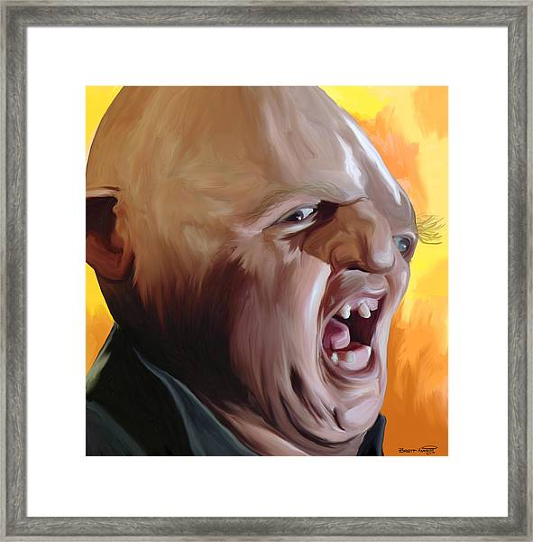 Sloth From Goonies Framed Print
