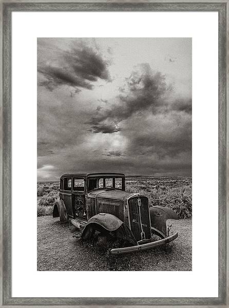 Slower Times Framed Print by Joseph Smith