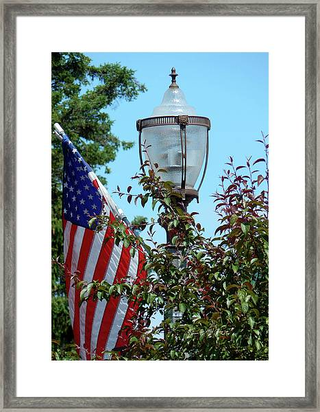 Small Town Anywhere Usa Framed Print