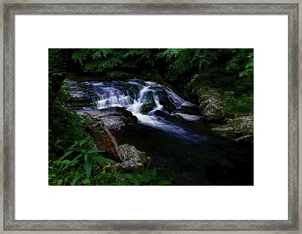 Small Waterfall  Framed Print by Elijah Knight