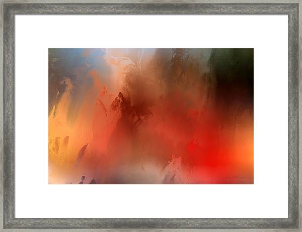 Wicked Worm Framed Print