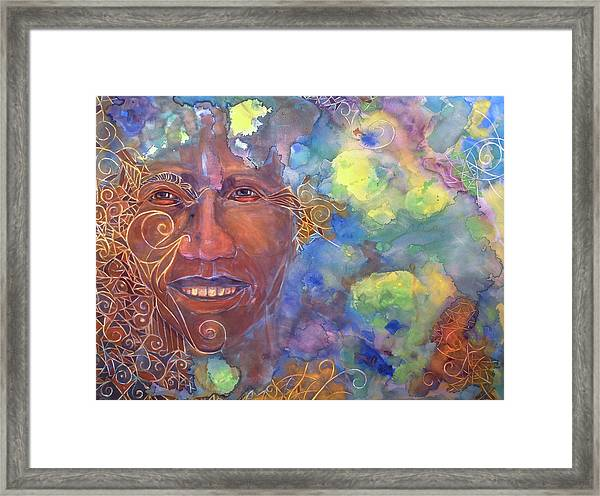 Smiling Muse No. 1 Framed Print