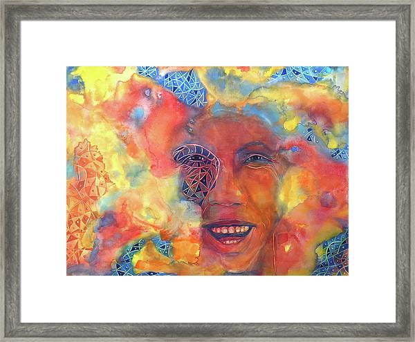 Smiling Muse No. 2 Framed Print