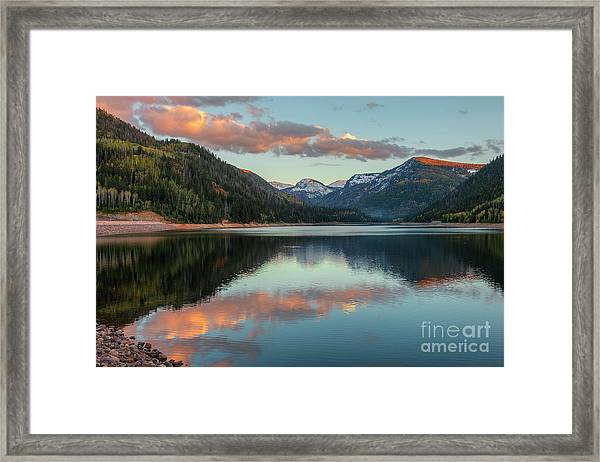 Smith And Morehouse Sunset Framed Print