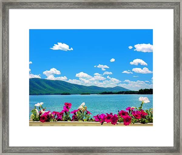 Smith Mountain Lake Grand View Framed Print