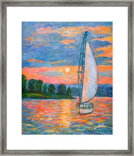 Smith Mountain Lake Framed Print