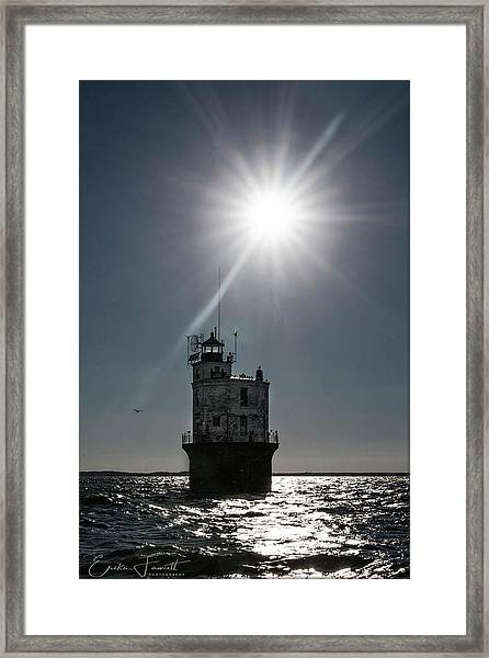 Smith Point Lighthouse Framed Print