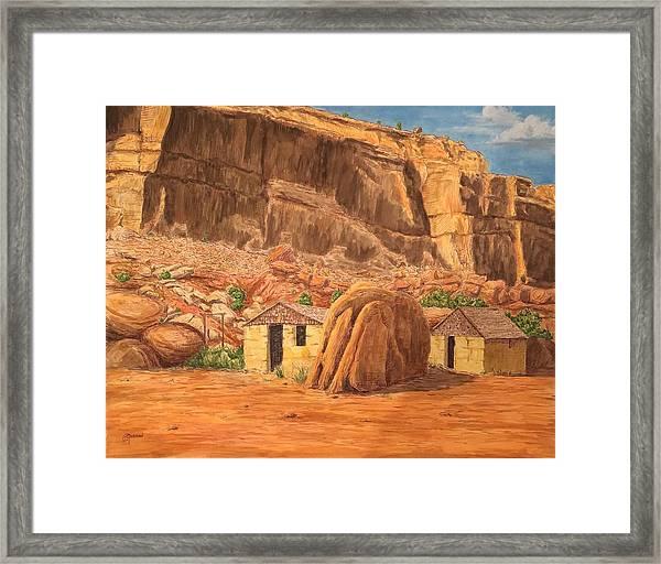 Smiths Cabin  Framed Print