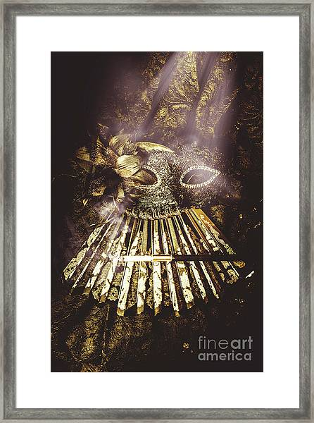 Smoke And Theatres Framed Print