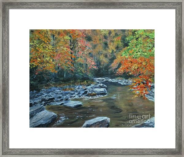 Smokey Mountain Autumn Framed Print