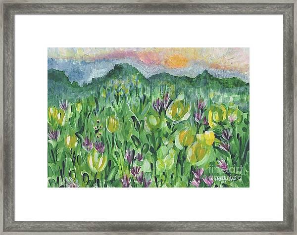 Smoky Mountain Dreamin Framed Print