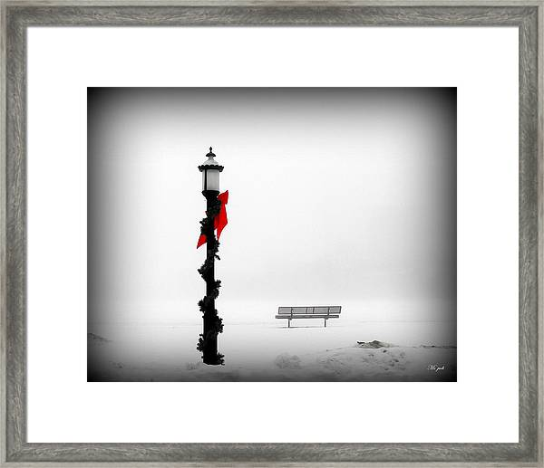 Snow Blind Framed Print