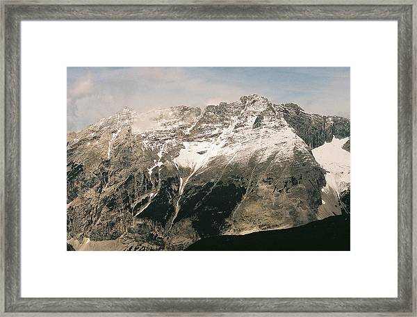 Snow Capped Austrian Summer Framed Print by Patrick Murphy
