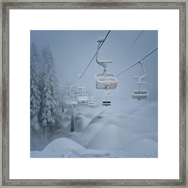Snow Framed Print