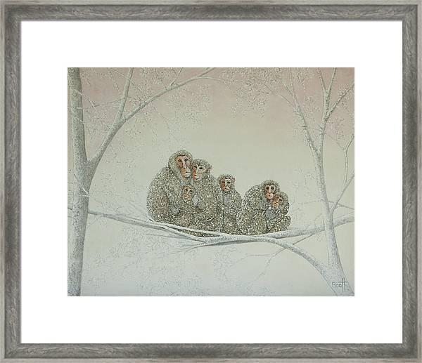 Snowed Under Framed Print