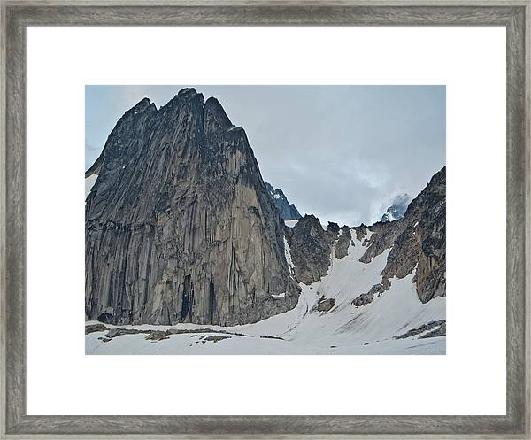 Snowpatch Col Framed Print