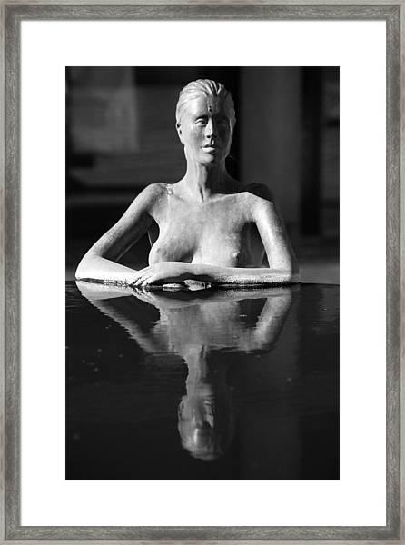 So Calm Framed Print by Jez C Self