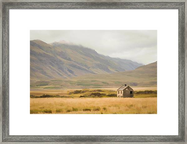 So Lonely Framed Print
