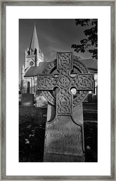 So Short A Life Framed Print
