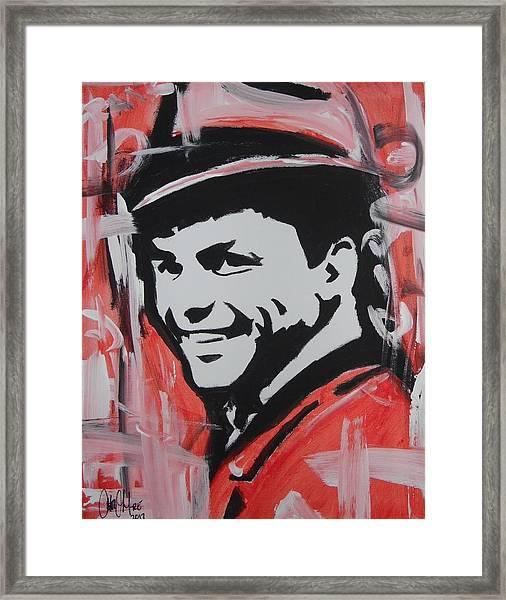 So Sinatra Framed Print