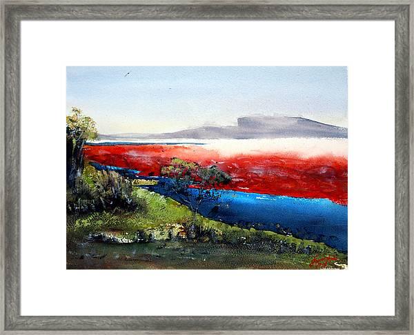 Soda Ash Country Framed Print