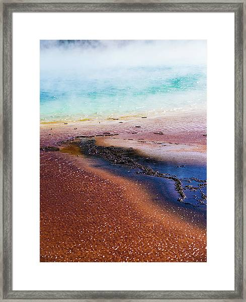 Soda Water Framed Print