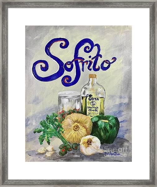 Sofrito Framed Print
