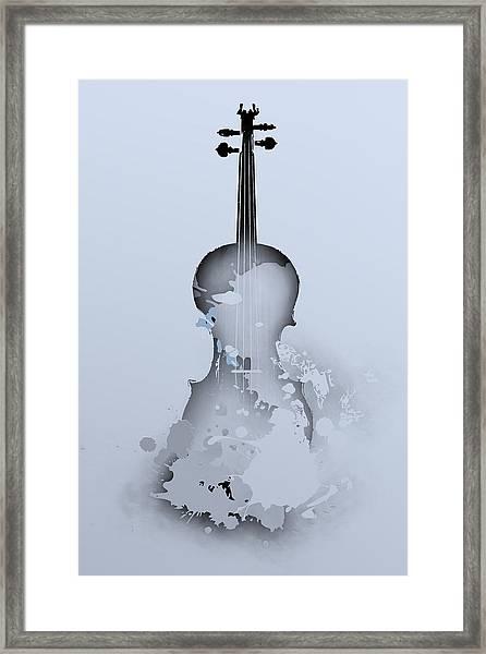 Soft Violin Framed Print