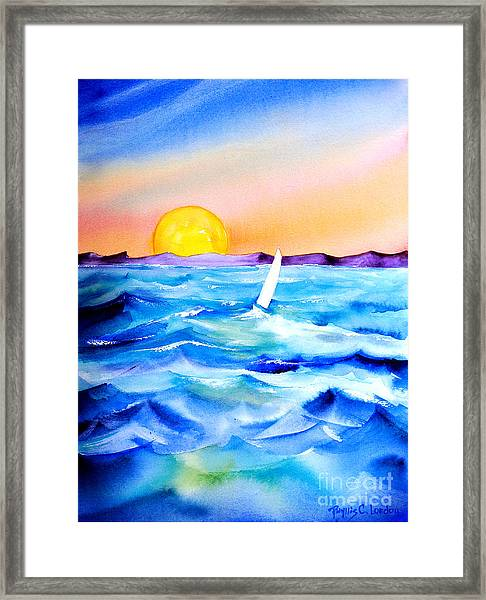 Sol Searching Framed Print