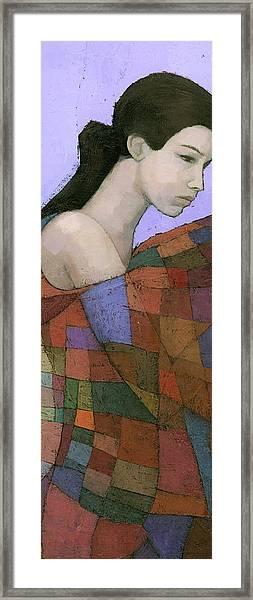 Solace Detail Framed Print