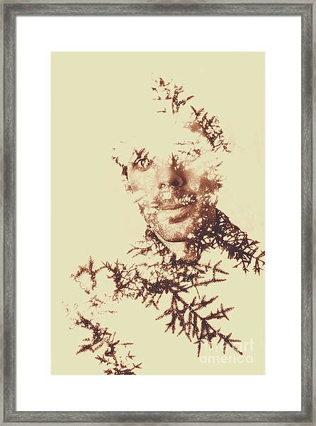 Solace Of Spirit Within Framed Print