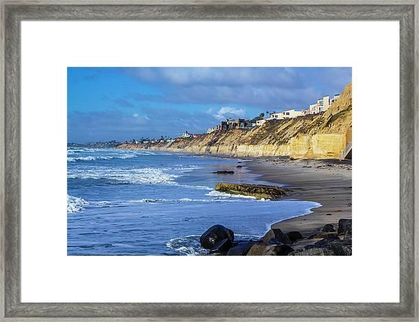 Solana Beach Framed Print