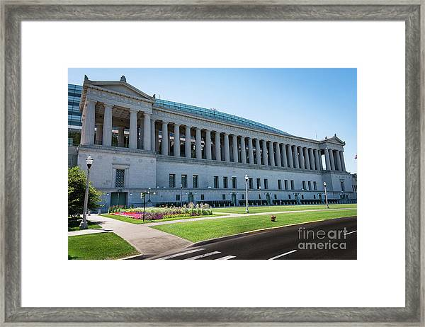 Soldier Field Framed Print