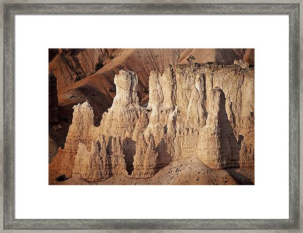 Soldier Row Framed Print