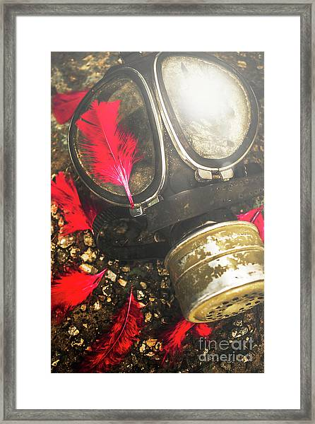 Soldiers Of The Fallen Framed Print