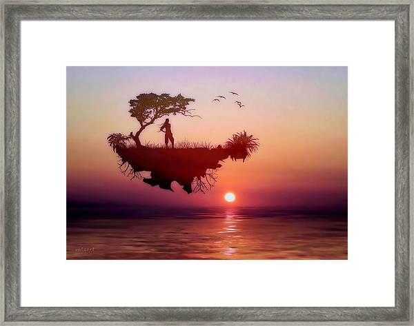 Solitary Sister Framed Print