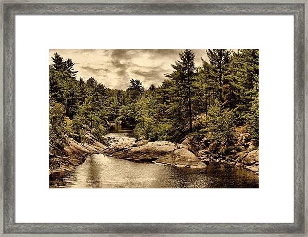 Solitary Wilderness Framed Print