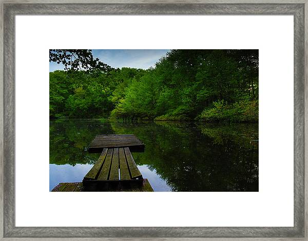 Solitudes  Framed Print