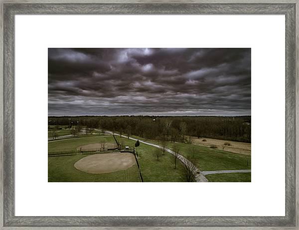 Somber Day Framed Print