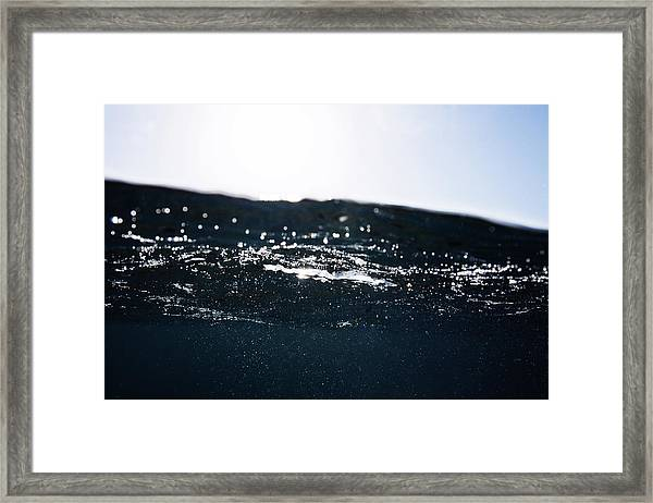 Some Bubbles Framed Print