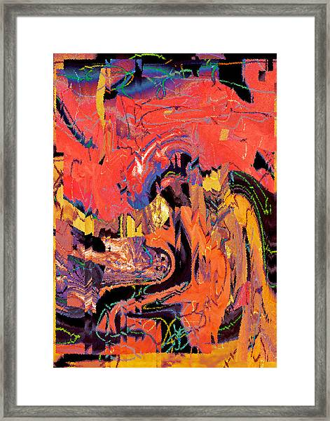 Something I Didn't Really Notice In The Bank Lobby 2015 Framed Print