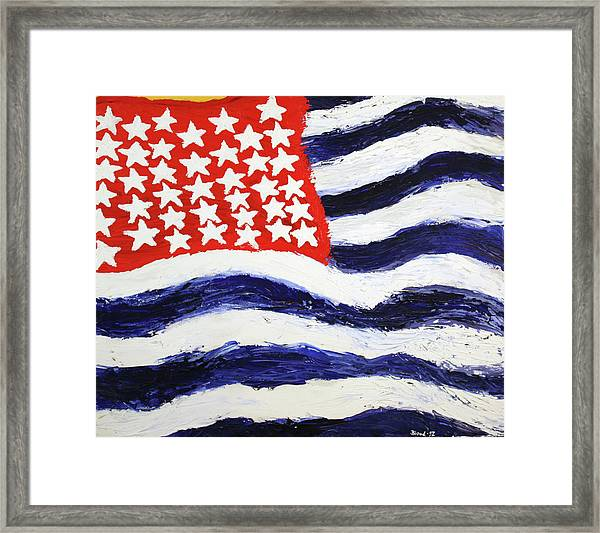 Something's Wrong With America Framed Print