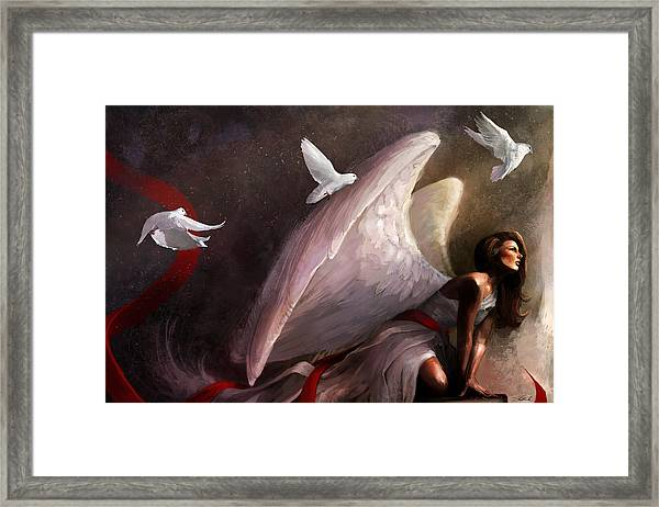Sometimes They Weep Framed Print