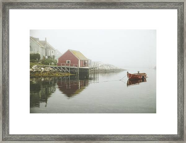 Sometimes We Need To Say Goodbye  Framed Print