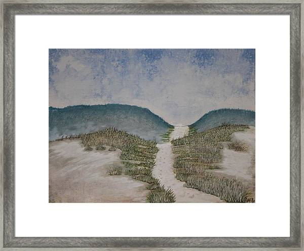 Framed Print featuring the painting Somewhere In Florida by Antonio Romero