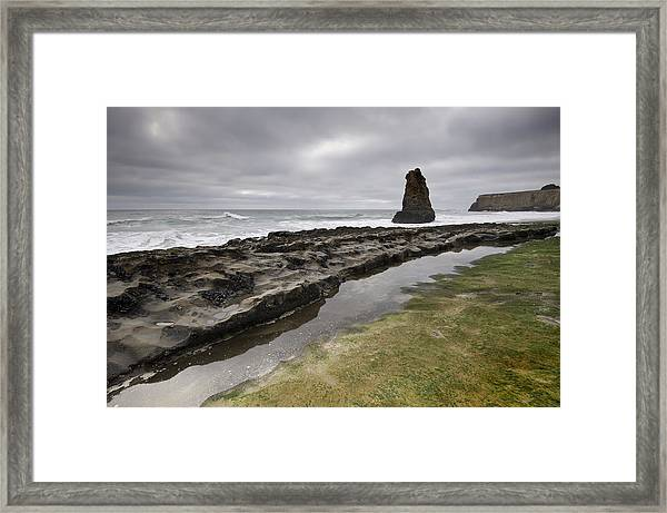 Somewhere Framed Print