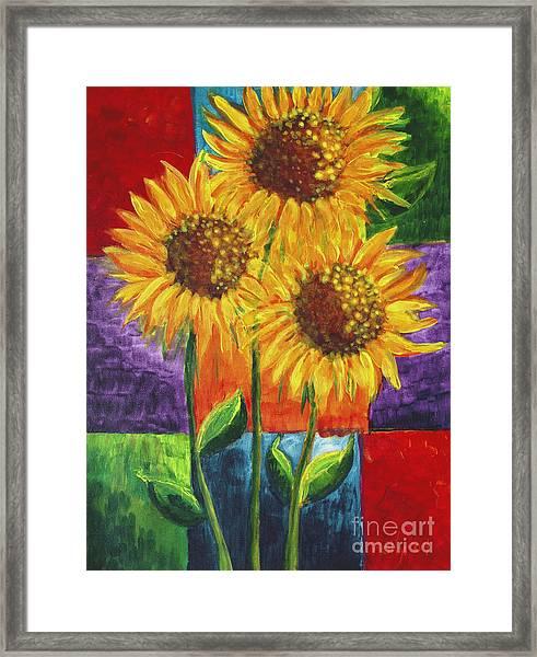 Sonflowers I Framed Print