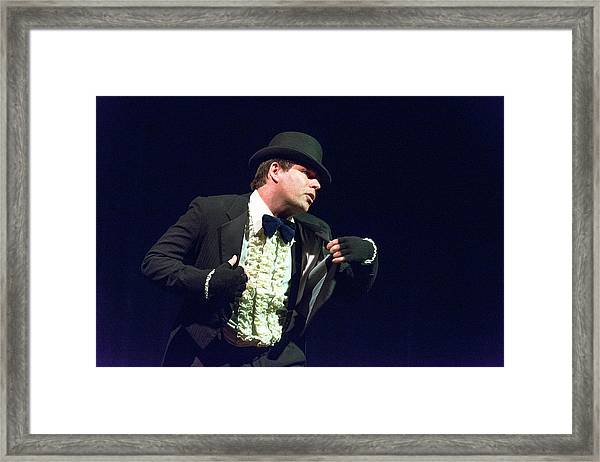 Song And Dance Man Framed Print