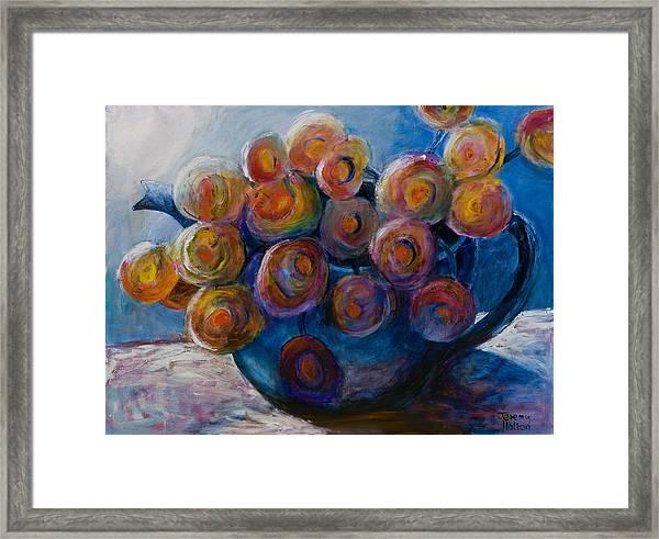 Song Of Flowers Framed Print